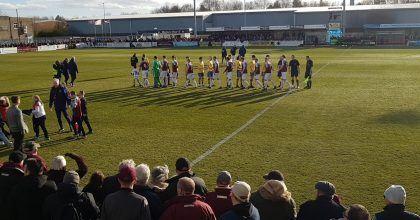 South Shields 1-2 Warrington Town: Match Report