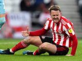 Sunderland's Aidan McGeady reacts after a missed chance