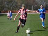 Captain Keira Ramshaw netted a hat-trick at Stoke