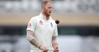 England's Ben Stokes during day one of the Specsavers Third Test match at Trent Bridge, Nottingham.
