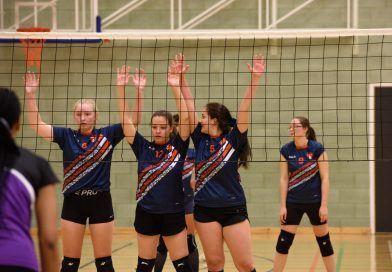 Team Sunderland women go down to Richmond in division one volleyball