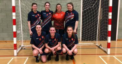 Curtis hat-trick secures Cup final berth for Team Sunderland Ladies Futsal