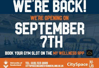 CitySpace Fitness Open from 7th September